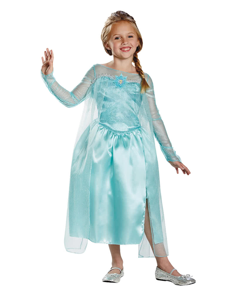frozen eisk nigin elsa kinderkost m frozen prinzessin kost m disney horror. Black Bedroom Furniture Sets. Home Design Ideas