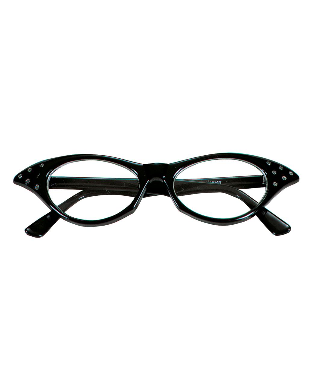 50er jahre brille mit strasssteinen kaufen horror. Black Bedroom Furniture Sets. Home Design Ideas