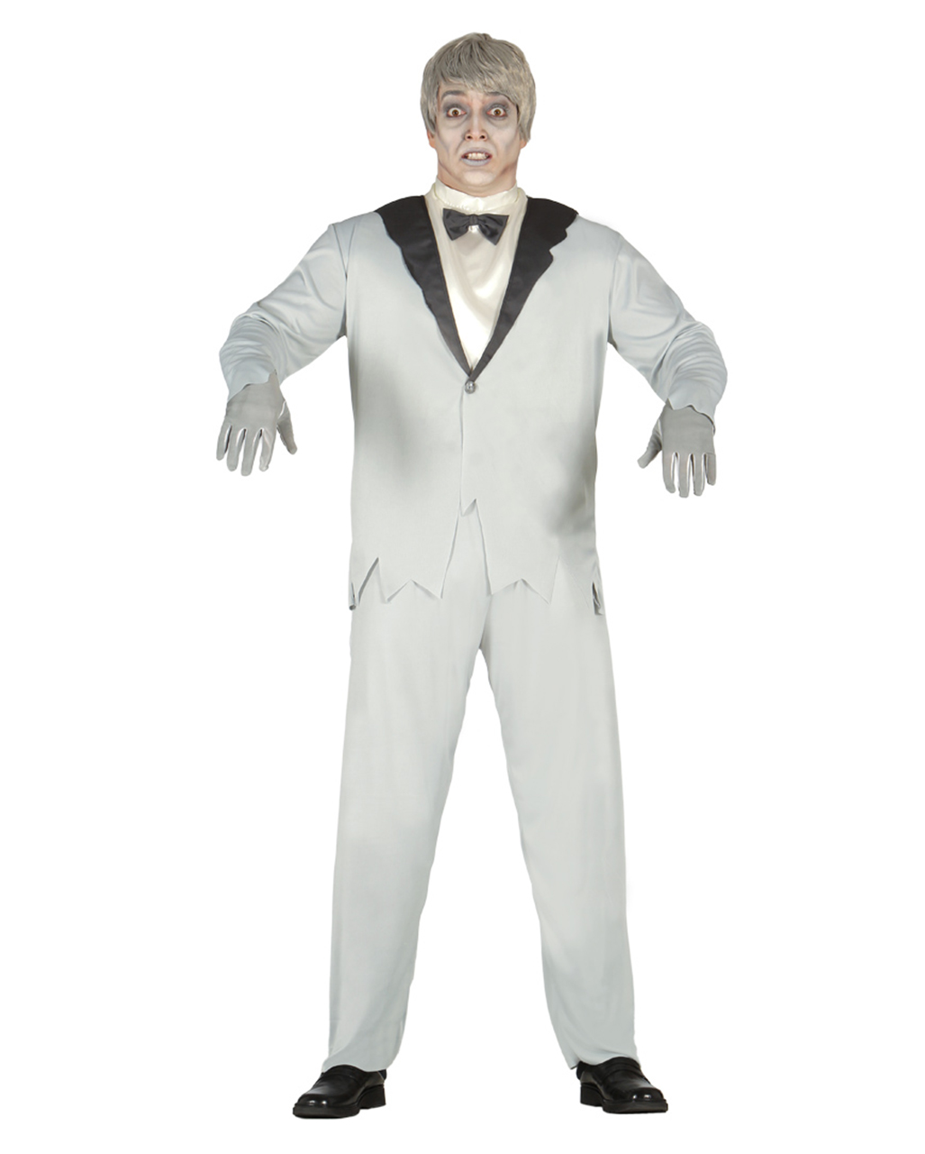 Elegant Ghost Groom Costume For a creepy Halloween | horror-shop.com