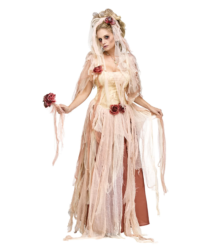 Ghost Bride Costume Deluxe For Halloween & Carnival