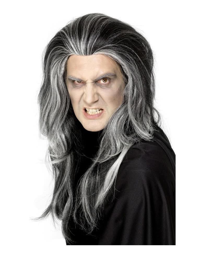 Gothic Vampire Wig Men S Wig With Strands Horror Shop Com