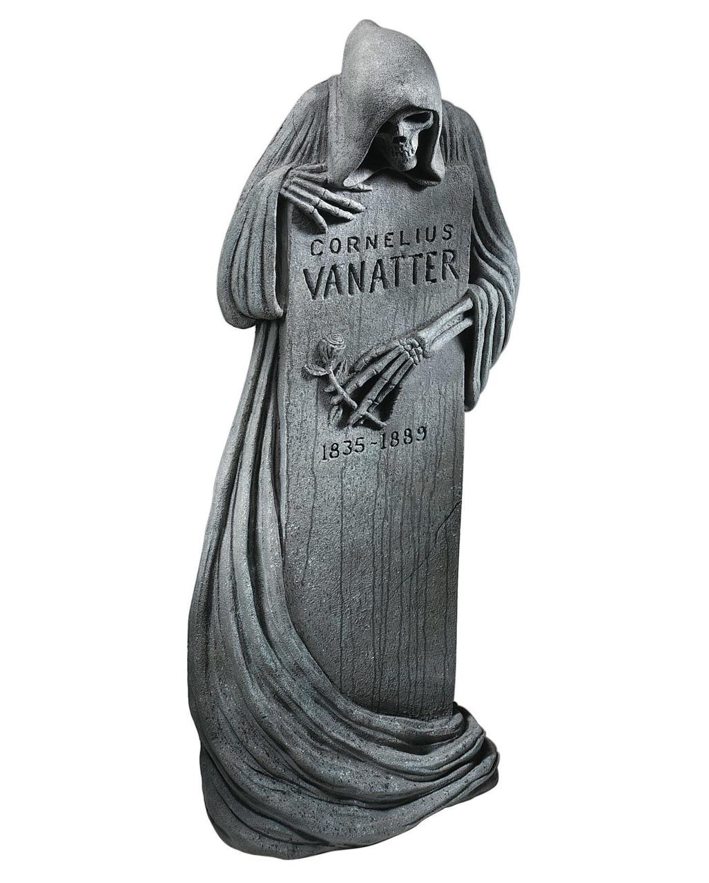 Halloween Grabstein Grim Reaper 117 X 45 Cm Halloween Deko Horror Shop Com