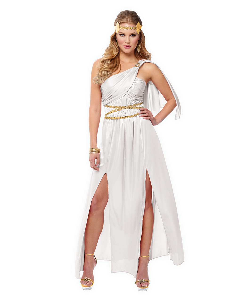 Greek Goddess Athena or Aphrodite Costume Halloween Fancy Dress