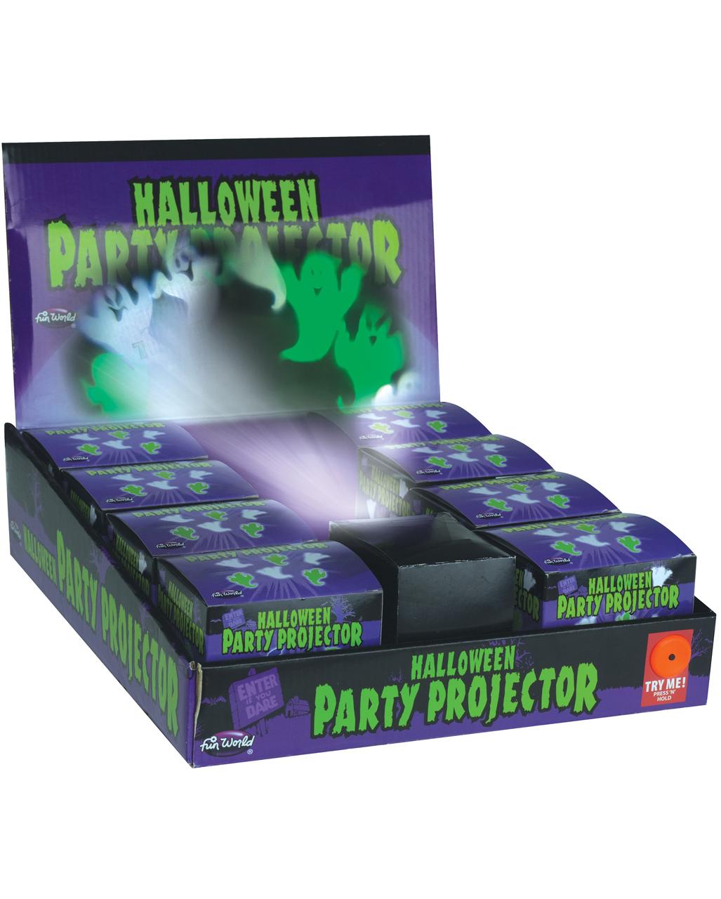 Halloween Party Projektor Geister Als Deko Kaufen Horror Shop Com