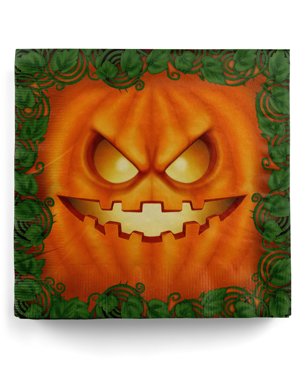 Halloween Pumpkin Party Napkins 20 Pieces Here Horror Shop Com