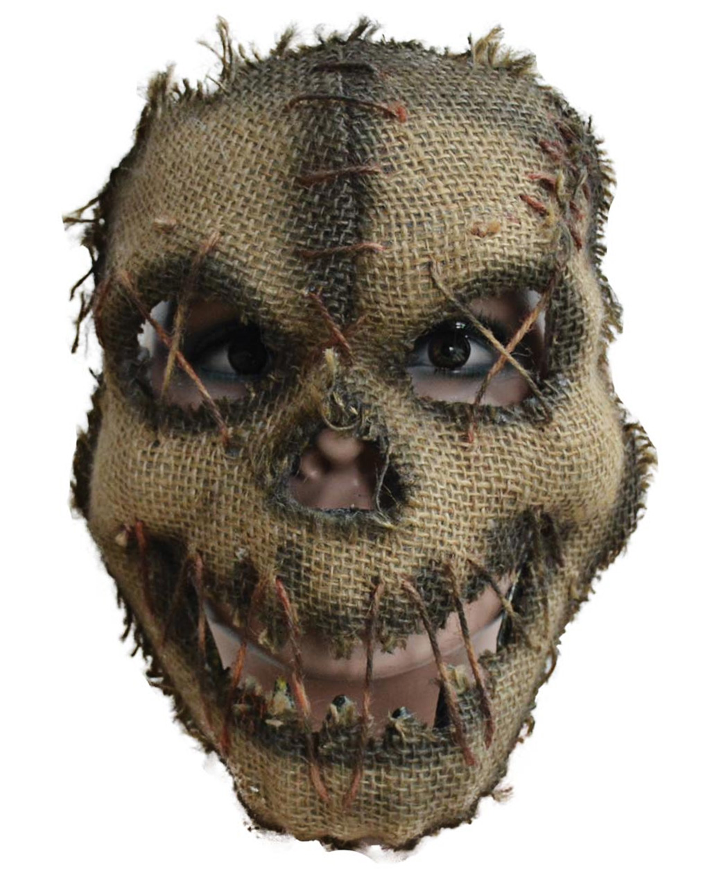Halloween Scarecrow Half Mask Buy Horror Shop Com