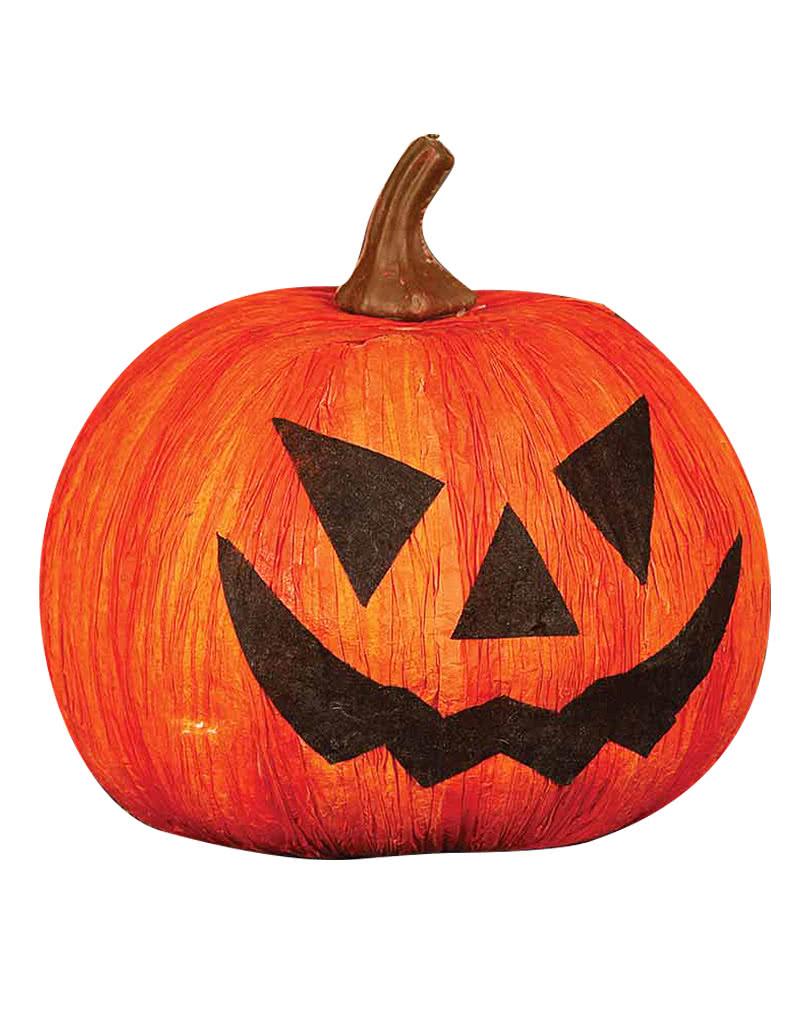 halloween deko k rbis 16 cm klassische jack o lantern deko horror. Black Bedroom Furniture Sets. Home Design Ideas