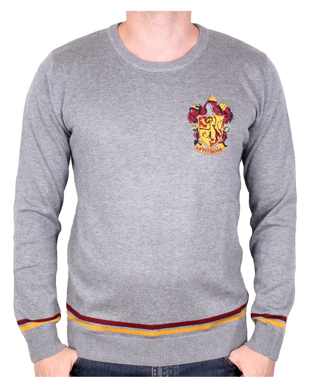 detailed look 7b0f5 02459 Harry Potter Gryffindor Pullover grau