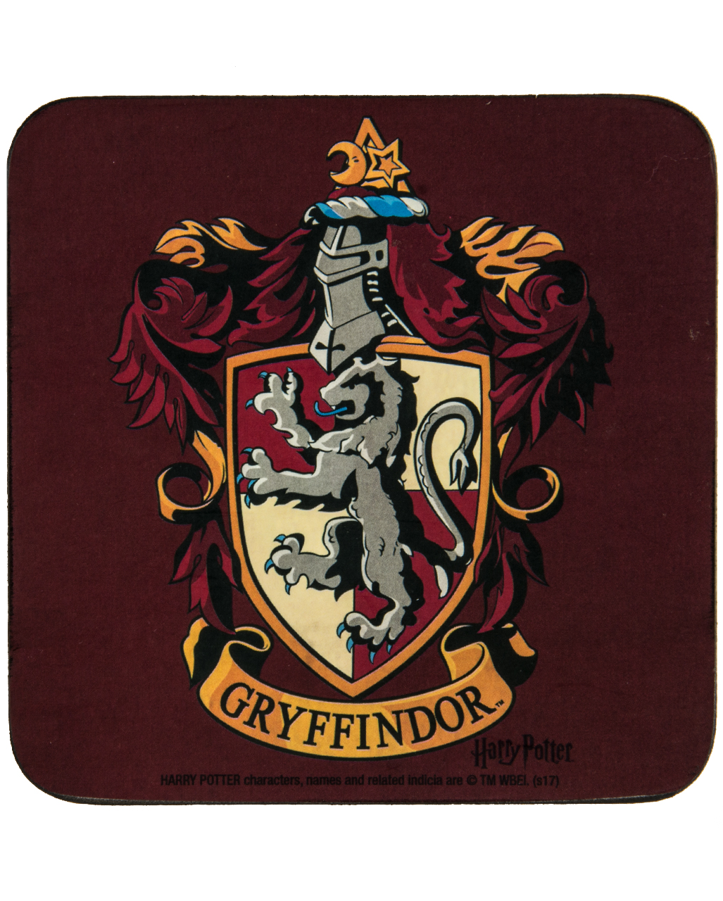 harry potter gryffindor coaster as a present horror. Black Bedroom Furniture Sets. Home Design Ideas