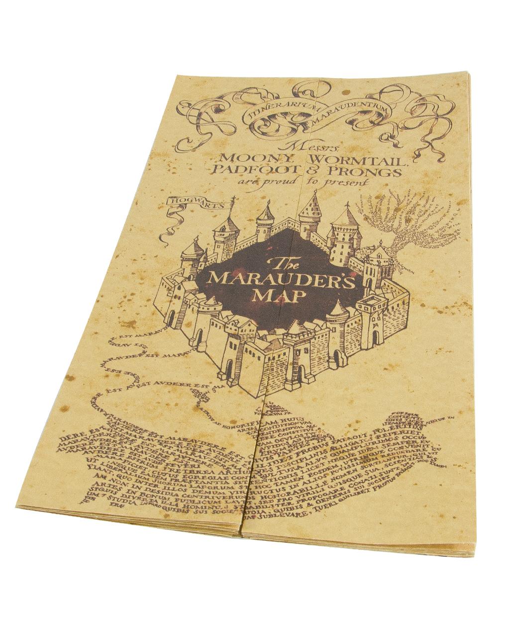 Harry Potter Karte Des Rumtreibers Tattoo.The Map Of The Marauder