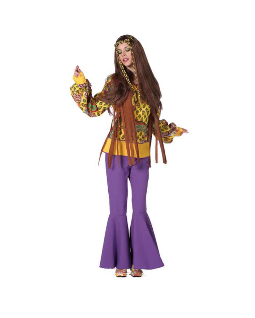 Hippie bluse mit fransen f r fasching horror - Hippie bluse damen ...