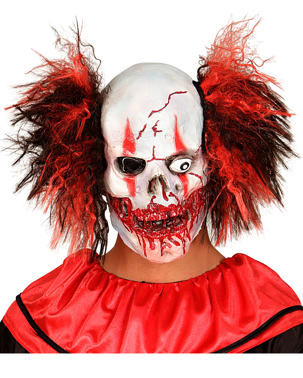 horror clown totenkopf maske g nstig kaufen horror. Black Bedroom Furniture Sets. Home Design Ideas