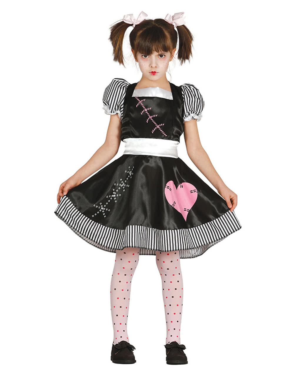 horror doll costume ragdoll for halloween kids party. Black Bedroom Furniture Sets. Home Design Ideas