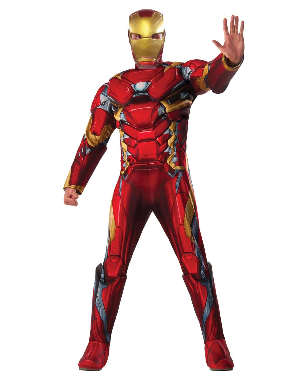 24034d7a2461c Iron Man Kostüm 3D Print | Avengers Kostüm | Horror-Shop.com