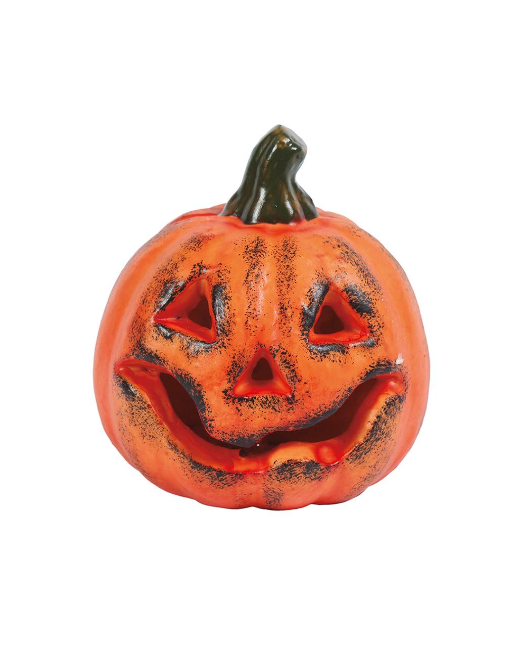 Scary Jack O Lantern Pumpkin 13 Cm For Halloween Horror Shop Com
