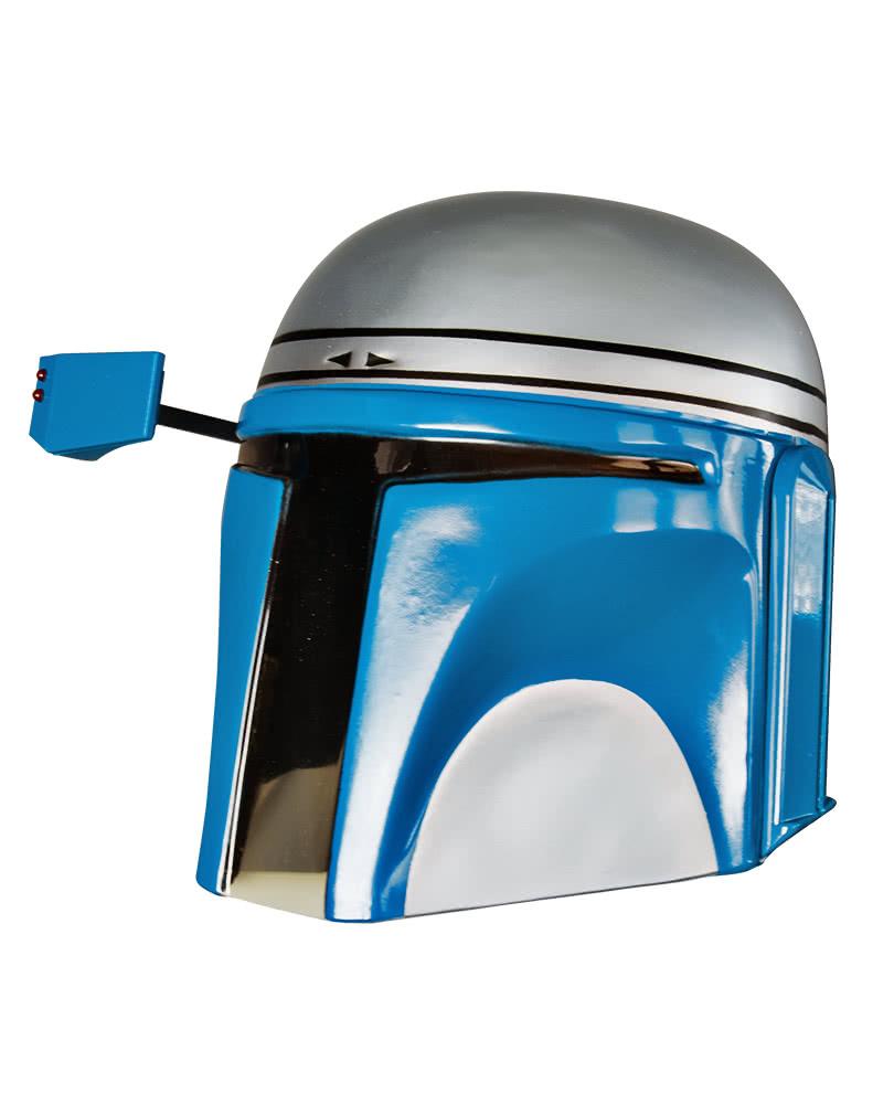 Jango Fett Mask Star Wars Bounty Hunter Fancy Dress Halloween Child Costume