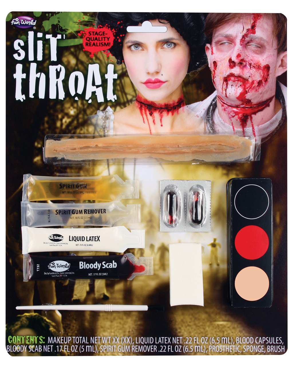 36+ Slit Throat Halloween Makeup Gif