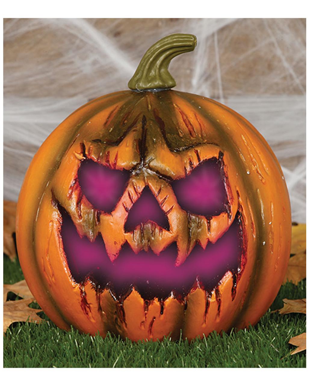 halloween k rbis mit led 22cm halloween deko horror. Black Bedroom Furniture Sets. Home Design Ideas
