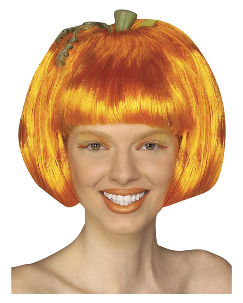 Cheeky Pumpkin Wig As Crazy Halloween Wig
