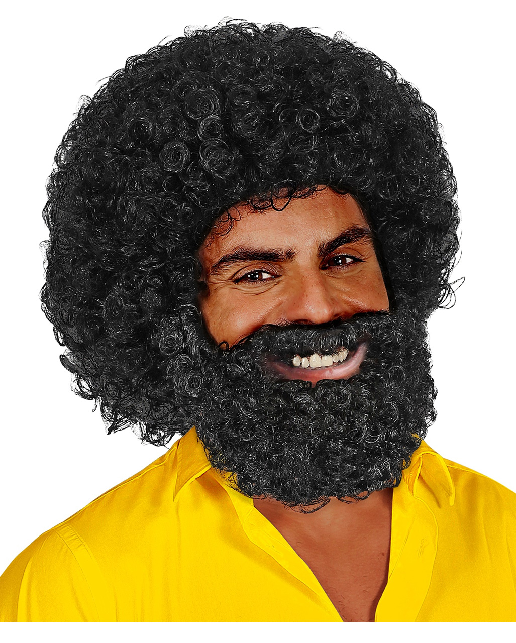 Curly Wig Jerome With Beard order | horror-shop.com