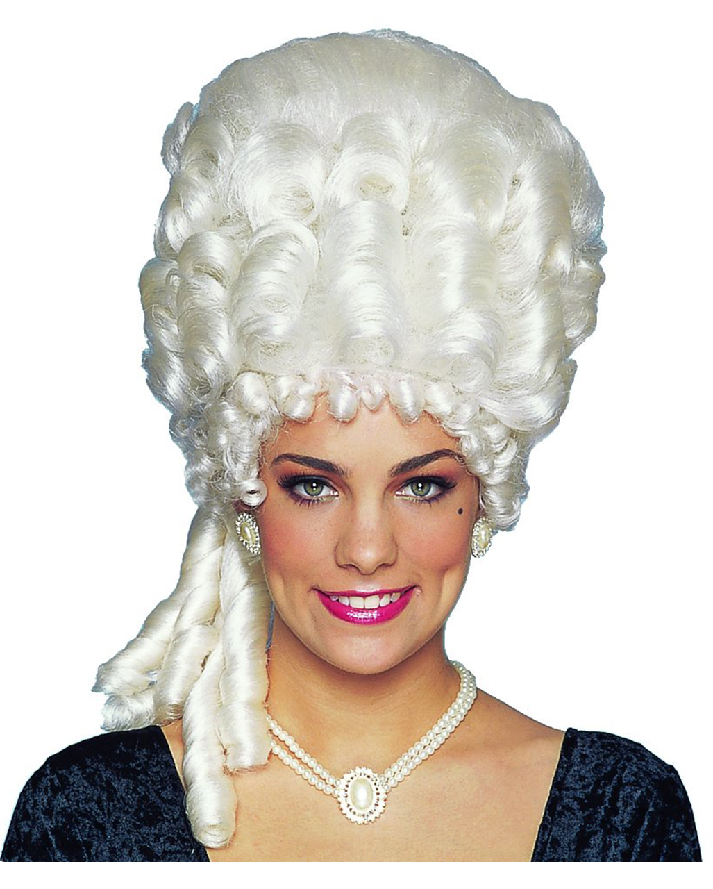 Marie Antoinette White Wig for Fancy Dress Costumes /& Outfits Accessory