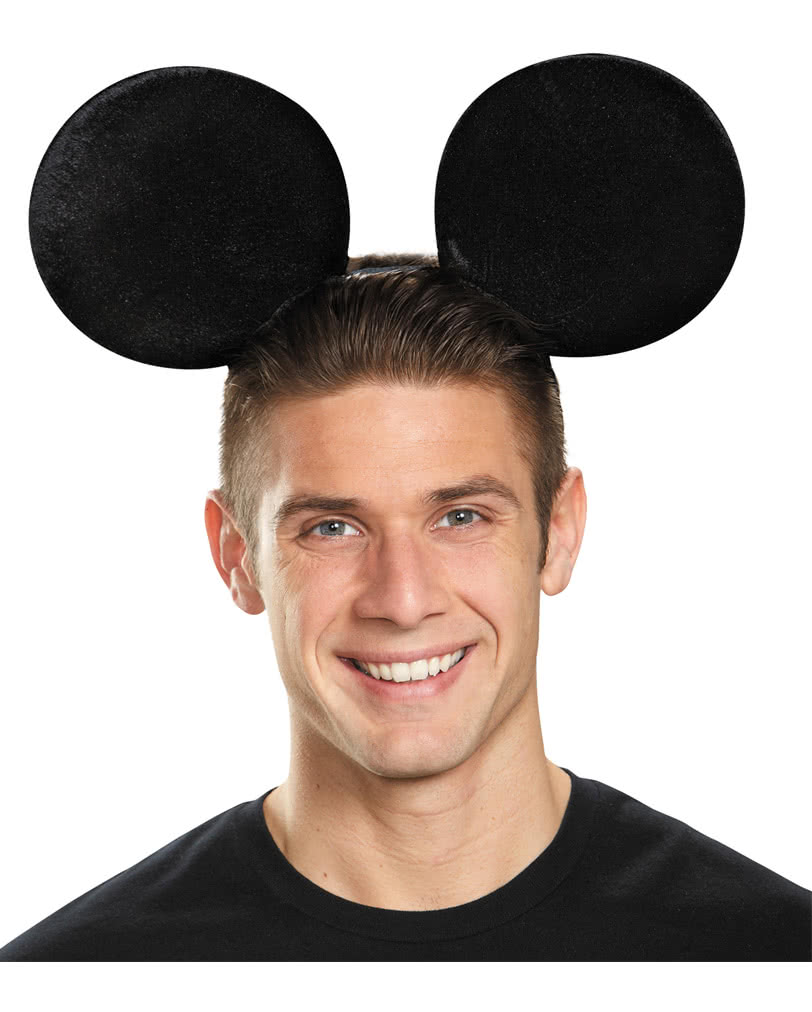 mickey mouse ears big mouse ears headband horror. Black Bedroom Furniture Sets. Home Design Ideas