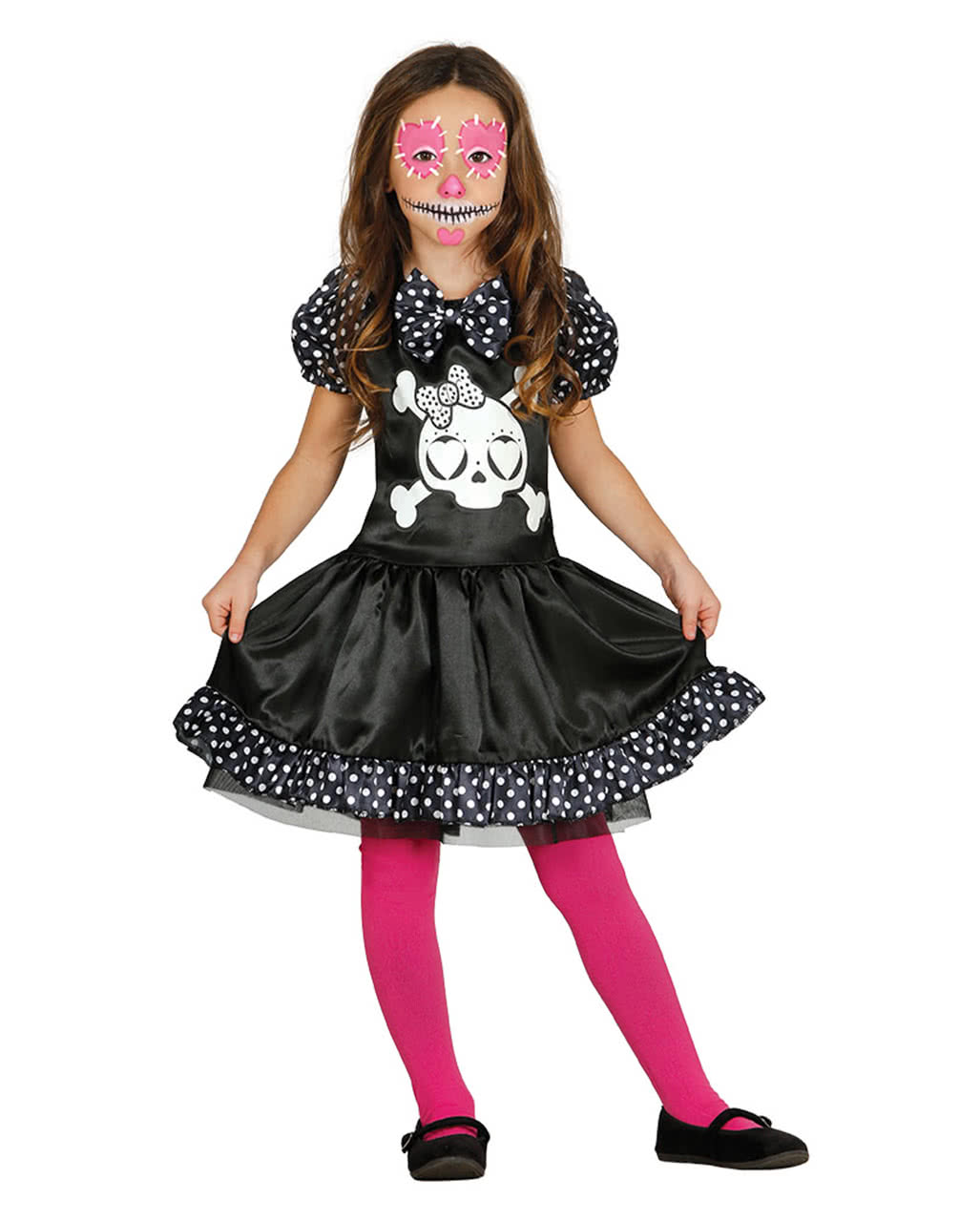 miss skeleton m dchenkost m halloween verkleidung horror. Black Bedroom Furniture Sets. Home Design Ideas