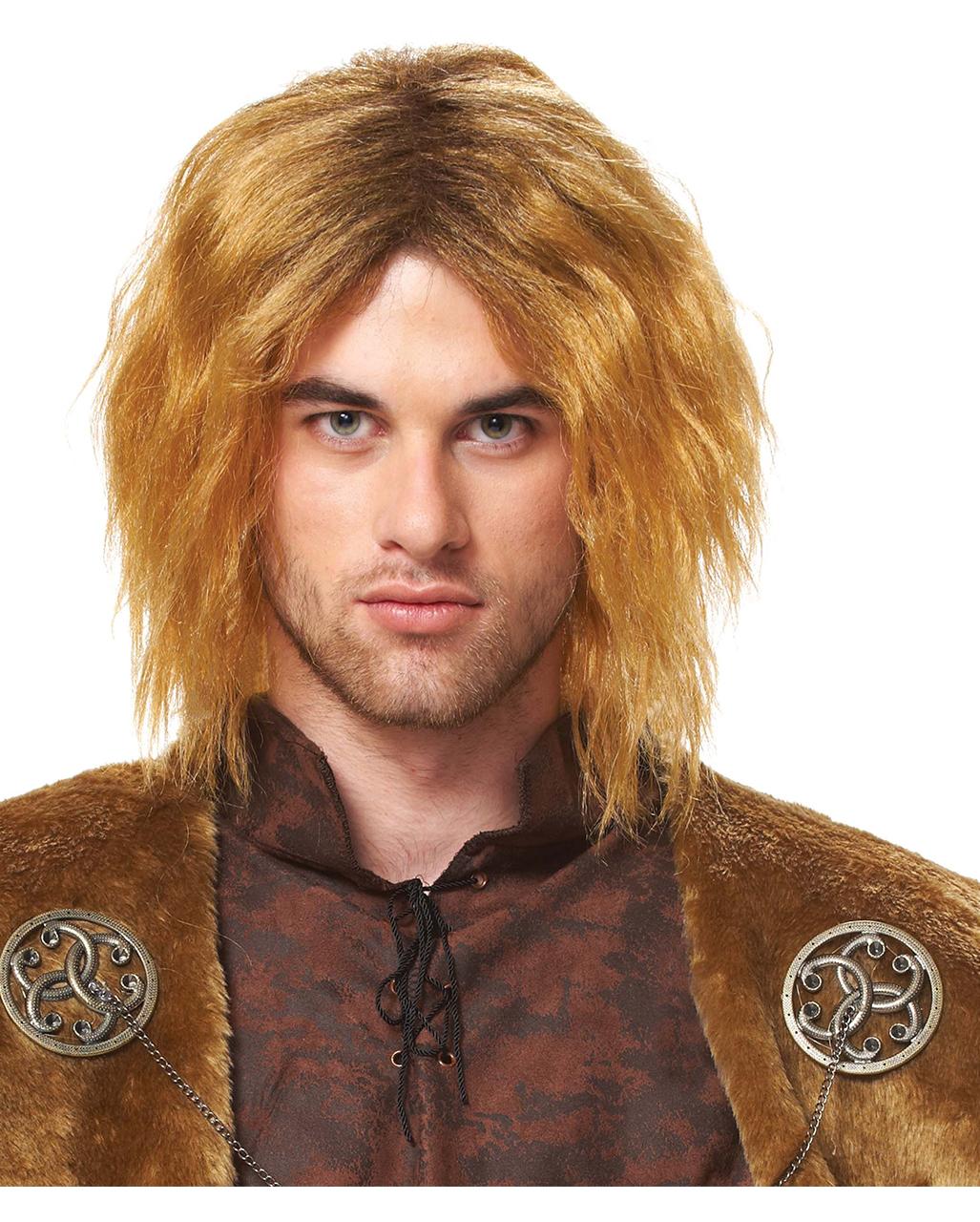 Mittelalter Herrenperucke Jon
