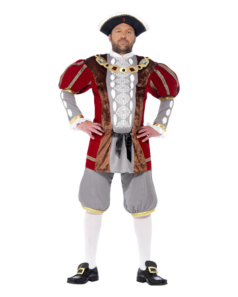 FANCY DRESS COSTUME = XL DELUXE MEDIVEAL KING
