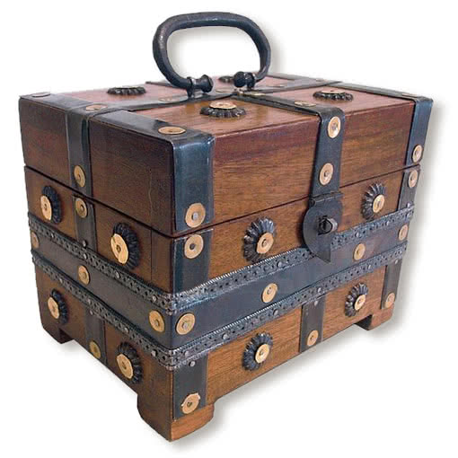 medieval chest antique wooden box gothic chest horror. Black Bedroom Furniture Sets. Home Design Ideas