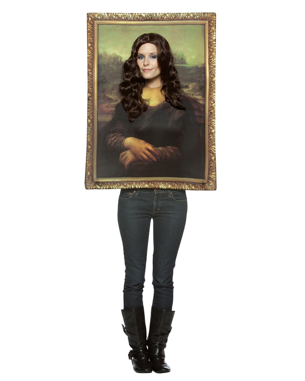 mona lisa portrait kost m jetzt online kaufen horror. Black Bedroom Furniture Sets. Home Design Ideas