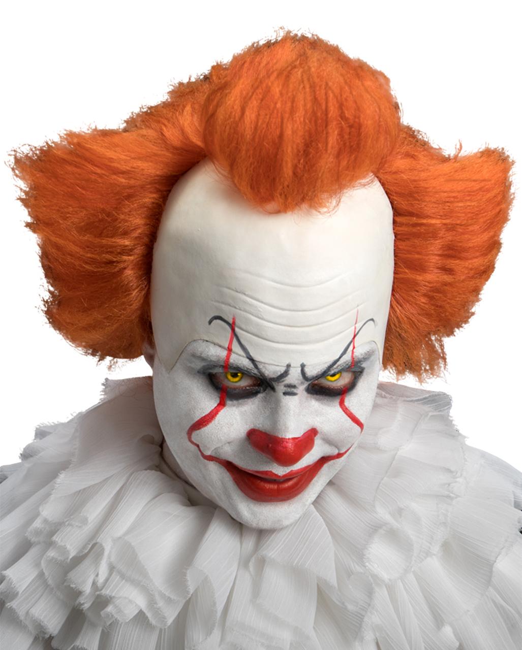 Deluxe Clown Wig Mens Ladies Halloween Horror Fancy dress Accessory