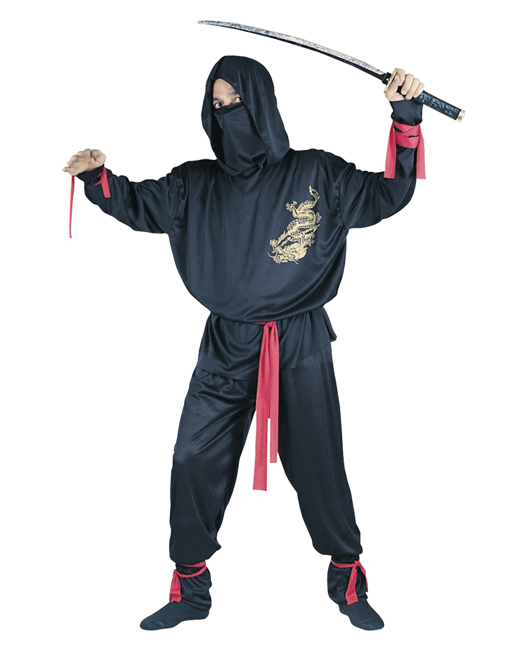 ninja costume black ninja fighter japanese fighter horror. Black Bedroom Furniture Sets. Home Design Ideas