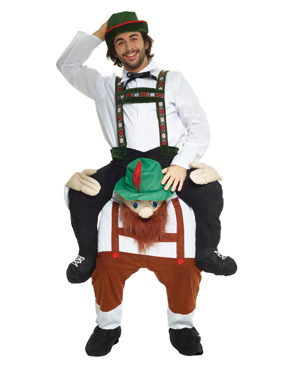 oktoberfest seppl piggyback costume to buy horror. Black Bedroom Furniture Sets. Home Design Ideas