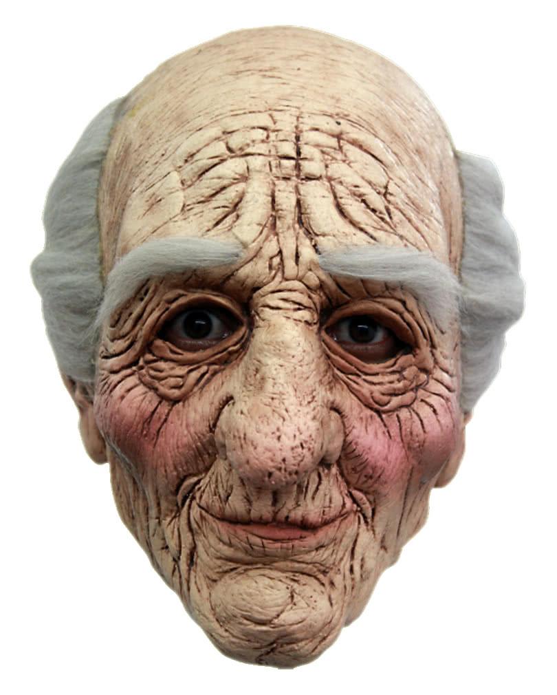 opa maske aus latex g nstig kaufen horror. Black Bedroom Furniture Sets. Home Design Ideas