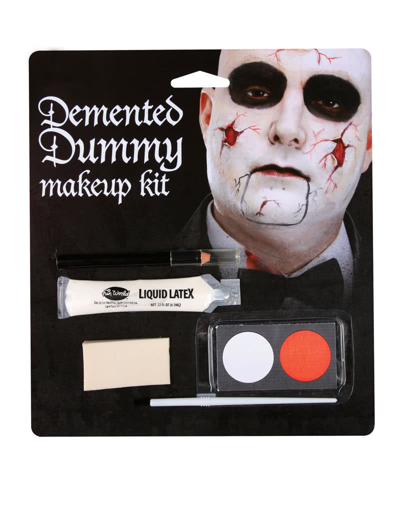porzellan puppen make up set zombie puppe schmink set horror. Black Bedroom Furniture Sets. Home Design Ideas