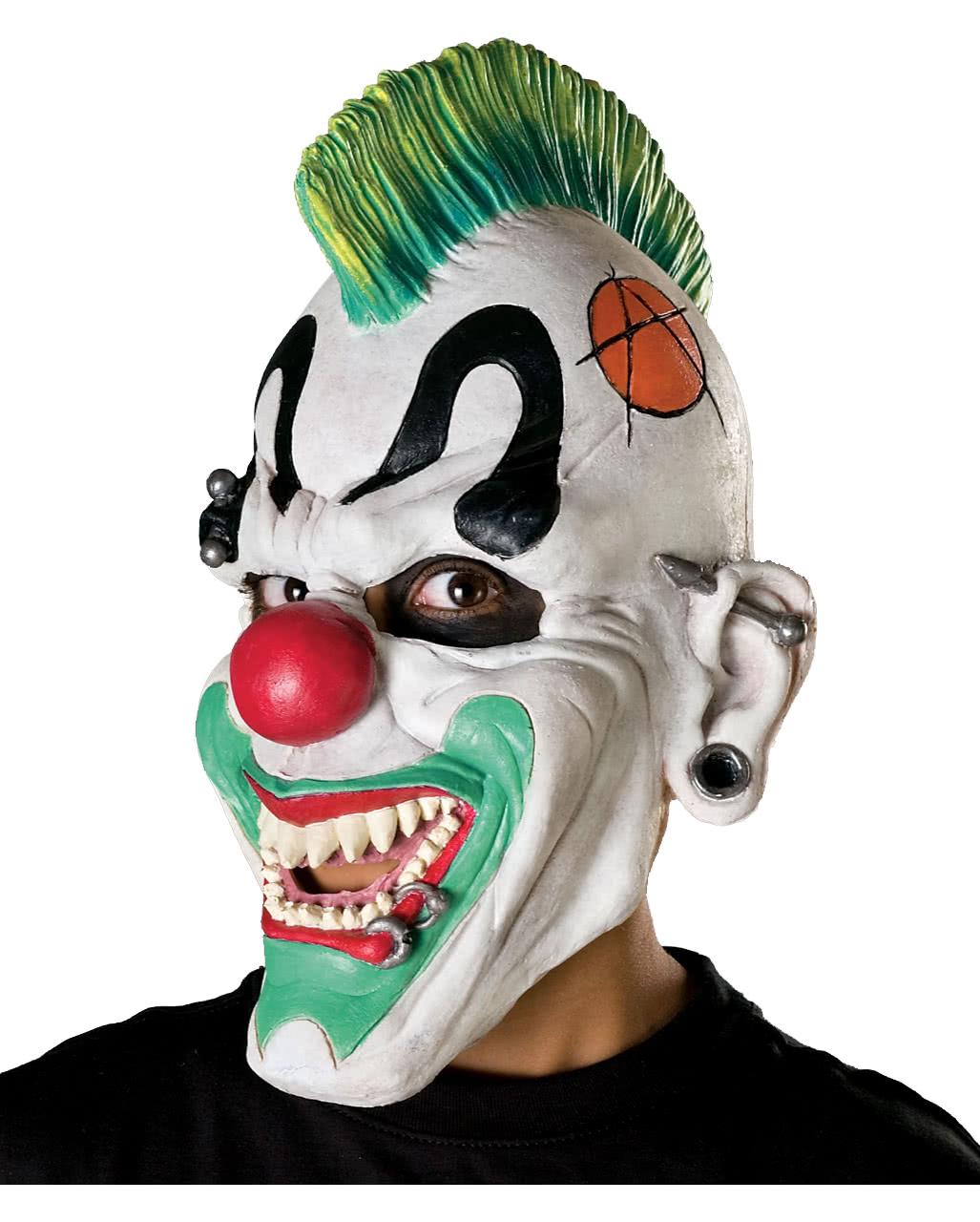 UK-Shop Detaillierung Super Qualität Punk Clown Maske