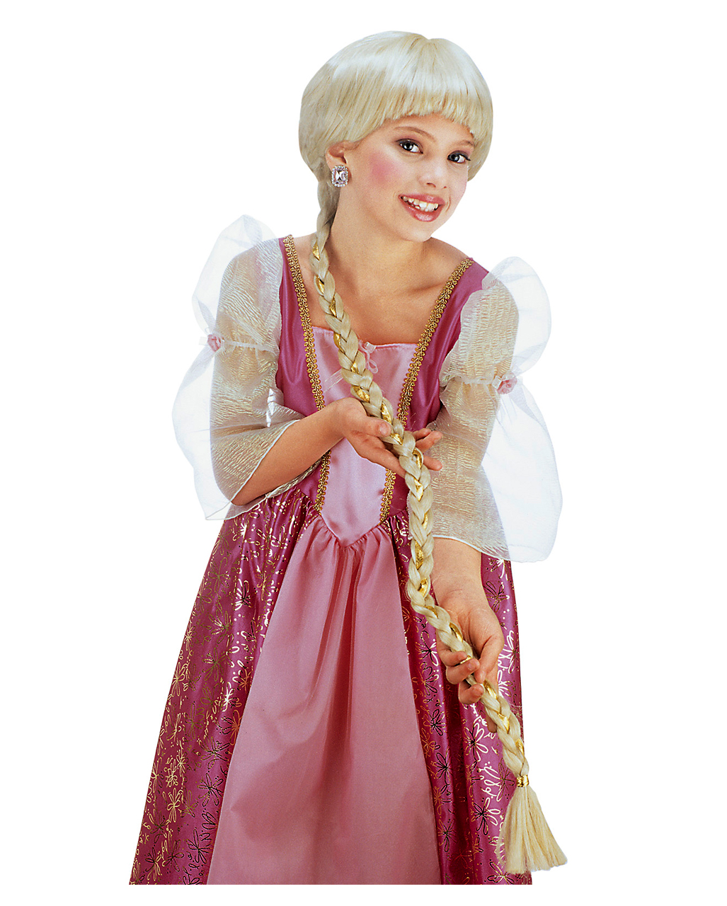 rapunzel kinderper cke blond f r fasching horror. Black Bedroom Furniture Sets. Home Design Ideas