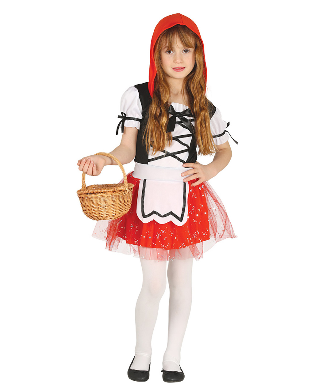 Little Red Riding Hood Kids Costume With Hood