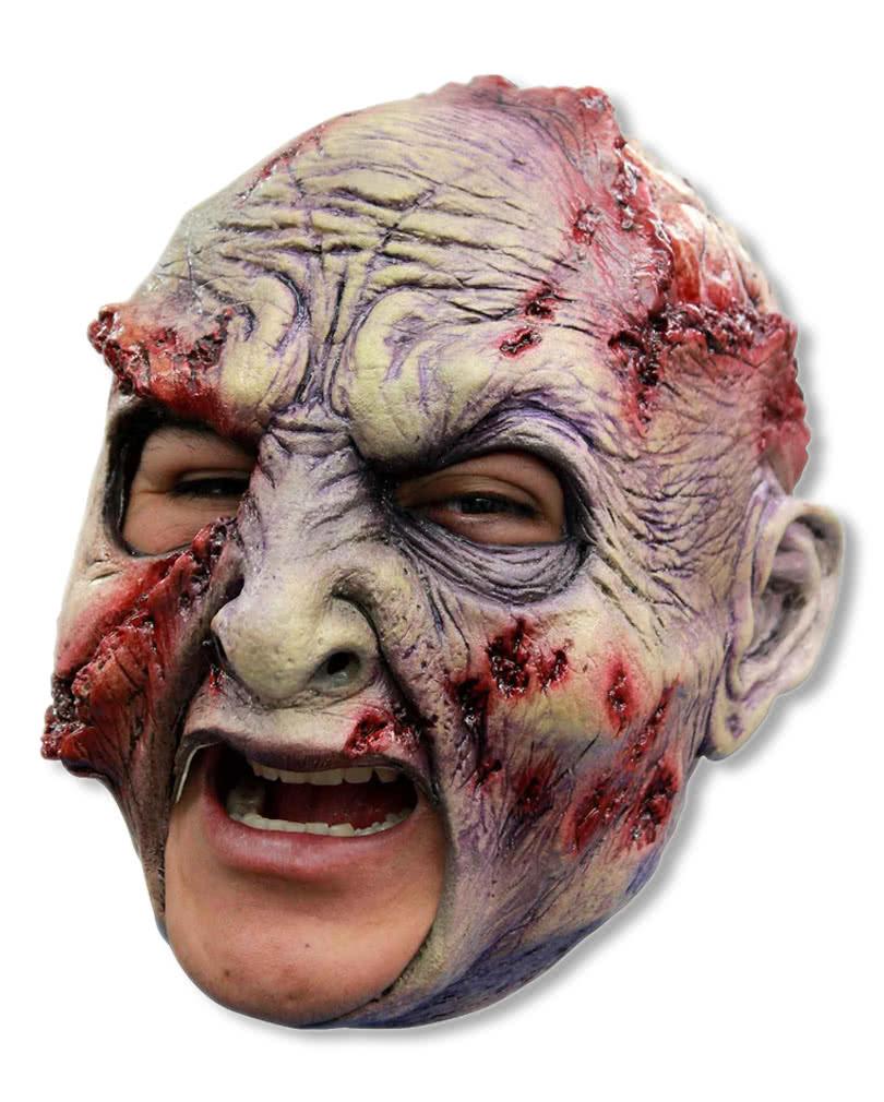 rotted zombie maske zombie masken online kaufen horror. Black Bedroom Furniture Sets. Home Design Ideas