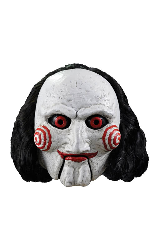 saw puppe billy maske lizenzierte saw maske horror. Black Bedroom Furniture Sets. Home Design Ideas