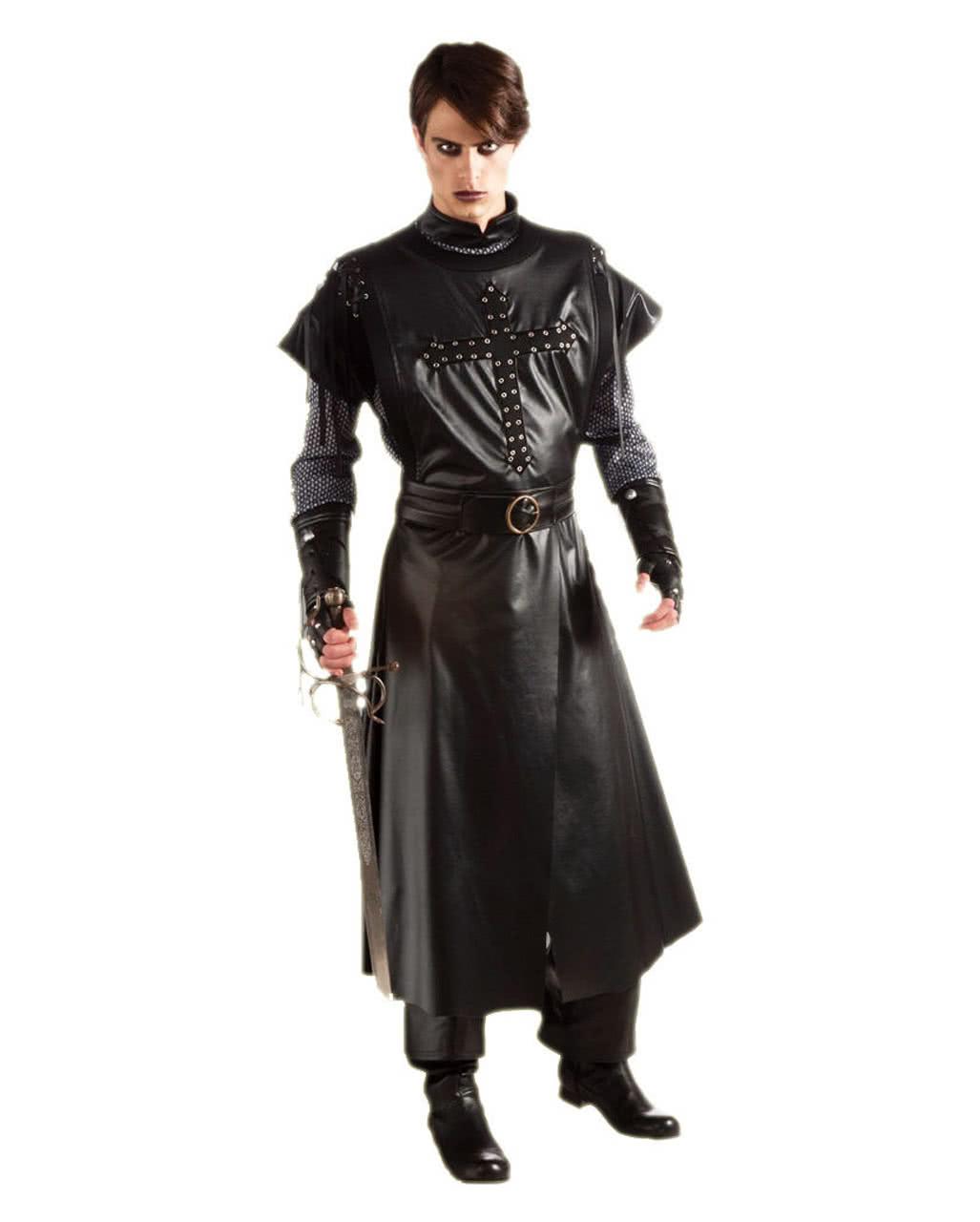 black crusader costume knight templar costume black knight outfit horror. Black Bedroom Furniture Sets. Home Design Ideas