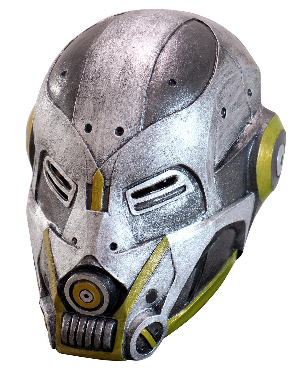 sci fi roboter maske jetzt g nstig online bestellen horror. Black Bedroom Furniture Sets. Home Design Ideas