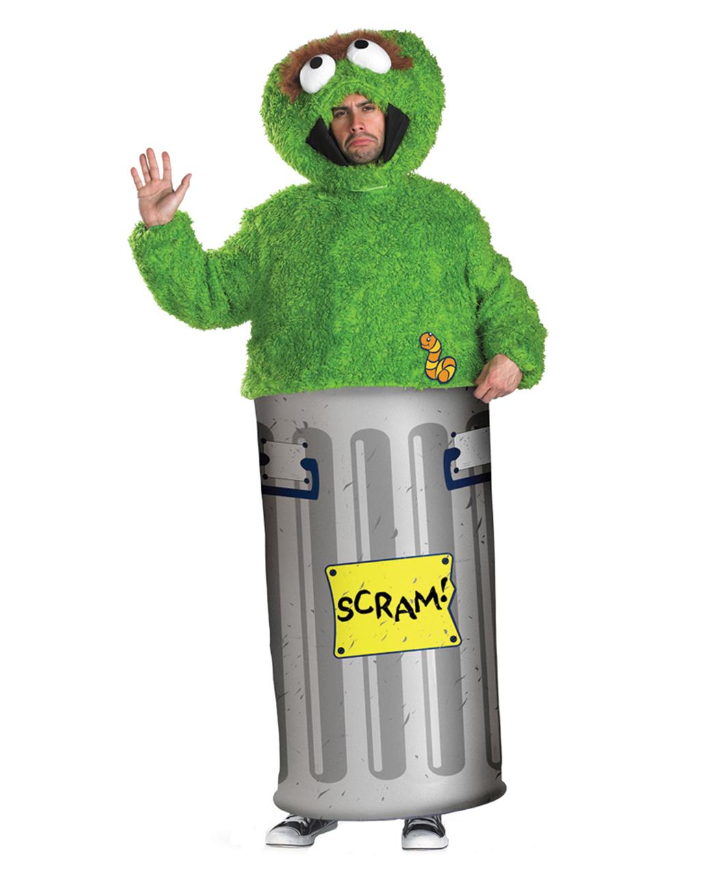 61ddc12b6c Sesamstrasse Oscar Kostüm M Muppets Kostüm | Horror-Shop.com