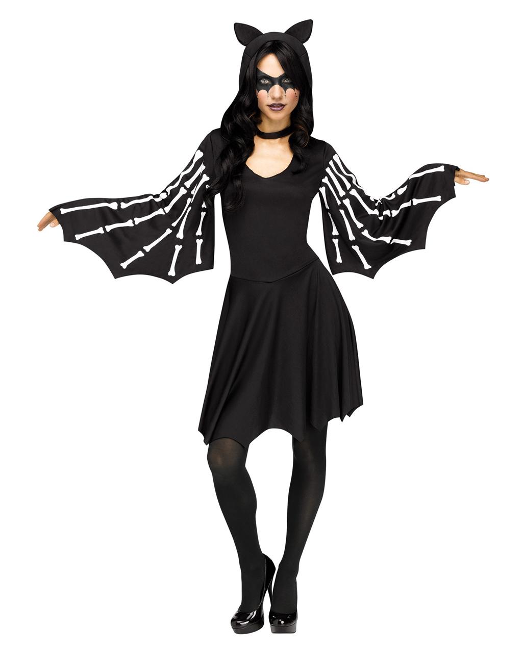Halloween Party Kleding.Dames Kleding White Bats Flock Leggings Fancy Dress