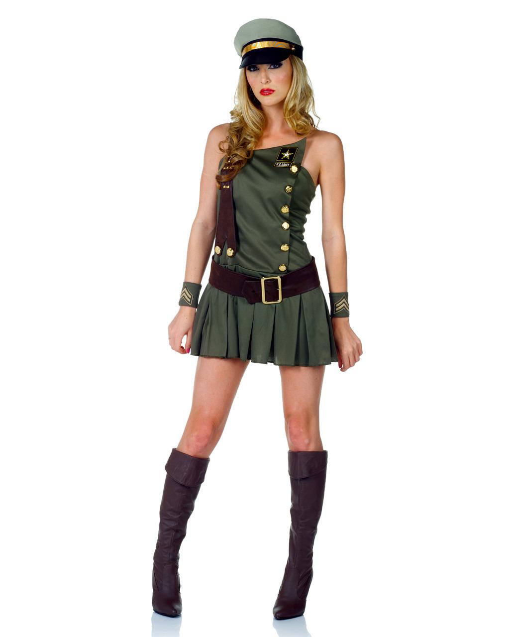 Army Girl Verkleidung