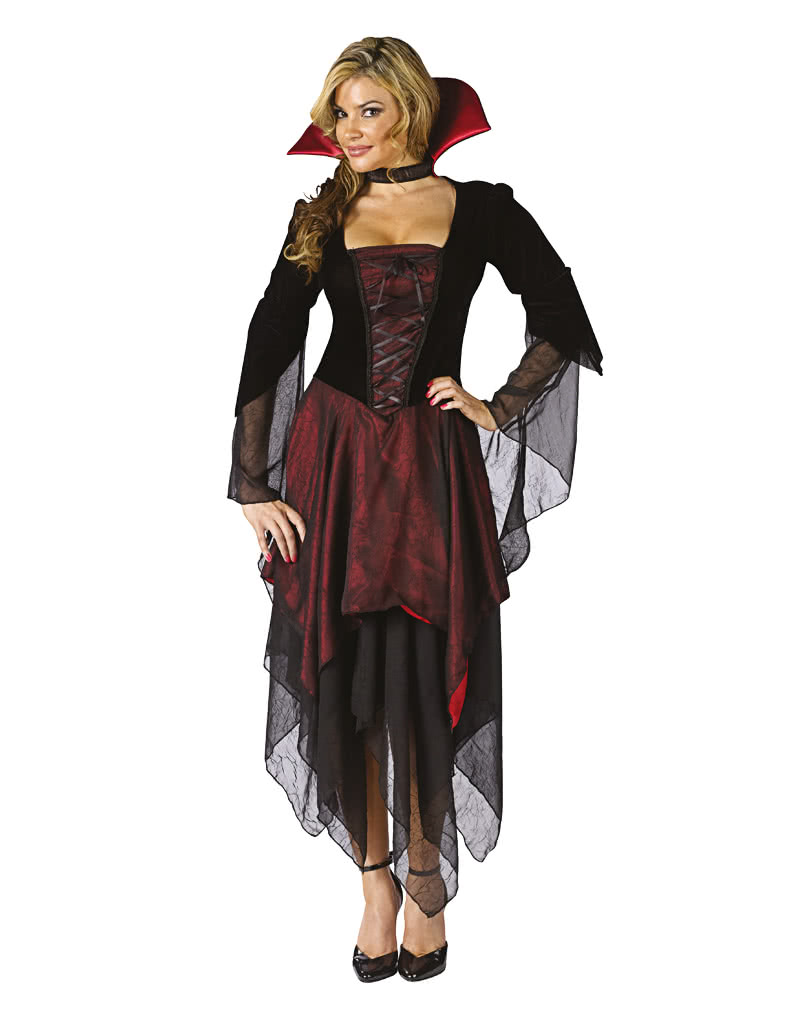 sexy vampire lady costume ml sexy vampiress dress horror. Black Bedroom Furniture Sets. Home Design Ideas