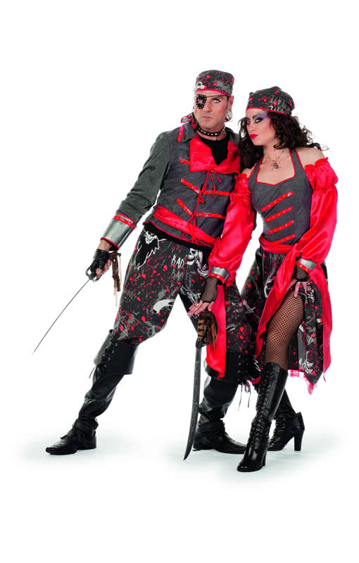 sharky pirate costume cool buccaneer costume for men horror. Black Bedroom Furniture Sets. Home Design Ideas