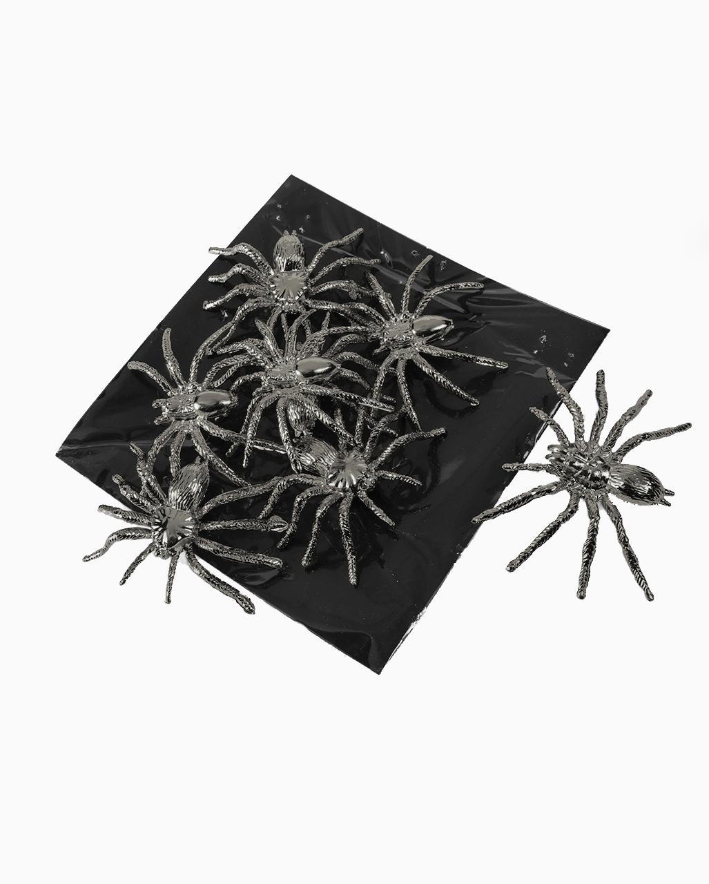 8 eklige Spinnen 8 Mäuse 8 Fledermäuse Kunststoff Dekoration Halloween