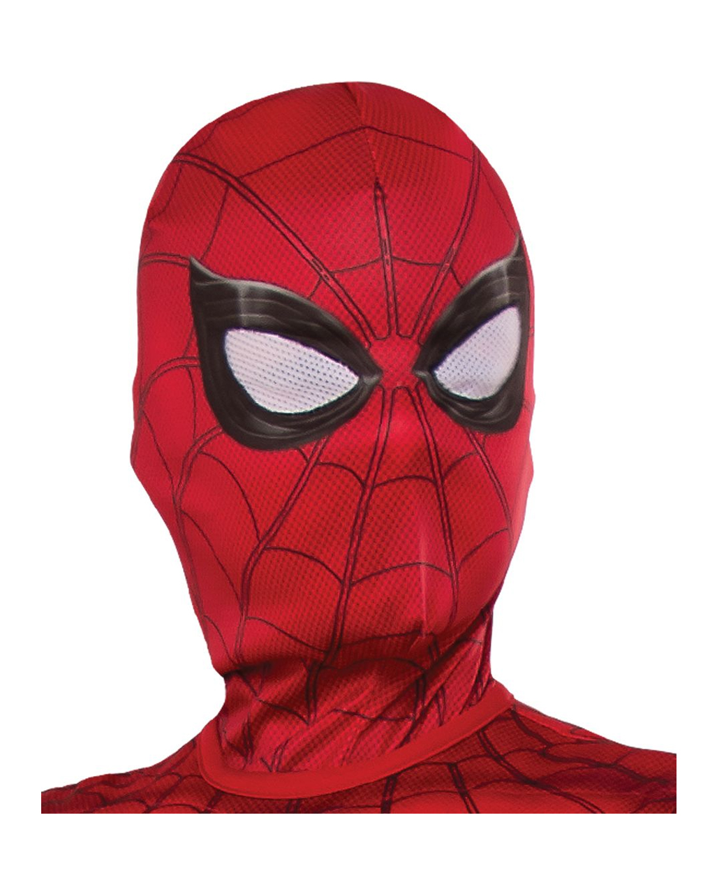 spiderman stoffmaske f r kinder f r karneval kaufen horror. Black Bedroom Furniture Sets. Home Design Ideas